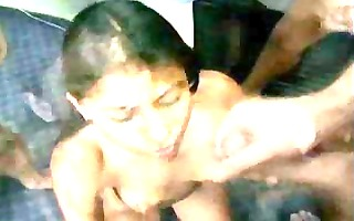 latin chick facial ejaculation fm14