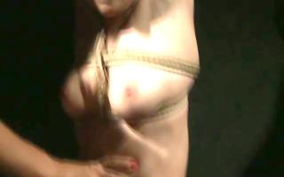 tall mistresse taking advantage of short fastened