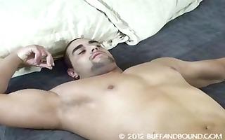 tickling muscle boy