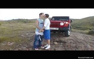 wild homosexual twink sharing bizarre homo