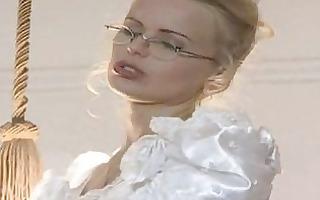 hot bride gets fucked in wedding dress