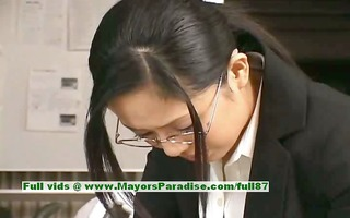 sora aoi innocent nasty oriental secretary enjoys