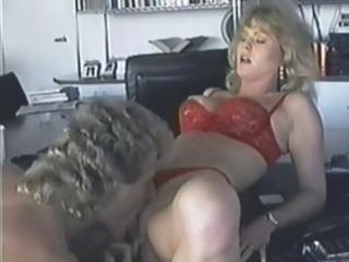 Busty blonde KC Williams eats his rod and gets